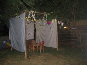 A home-made Sukka