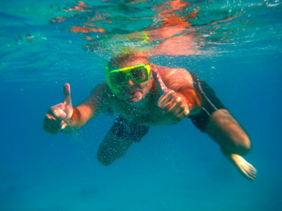 Snorkeling in the Red Sea, Eilat