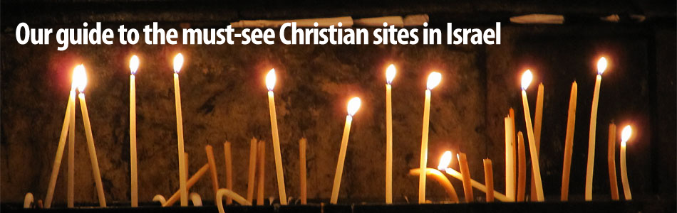 Christian sites in Israel