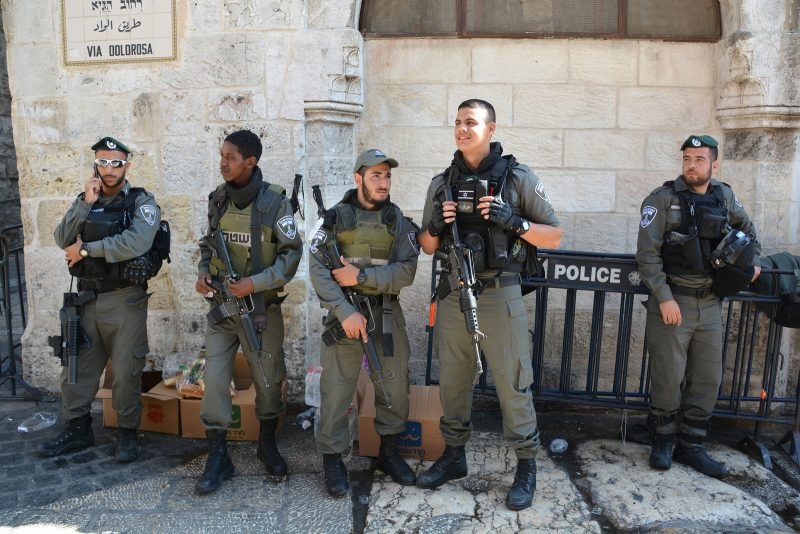 police-security-israel