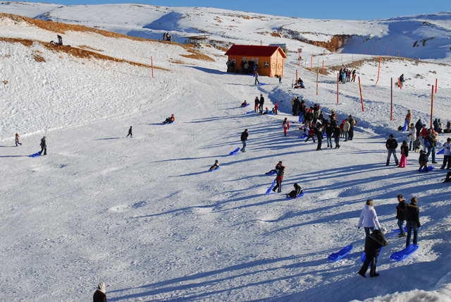 Mount Hermon - yes, a ski resort in Israel!