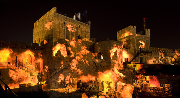 The Night Spectacular Tower of David