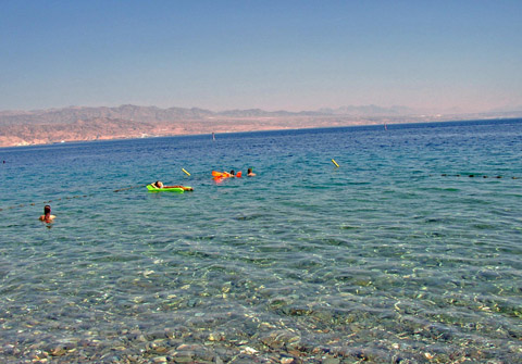 Migdalor Beach, Eilat