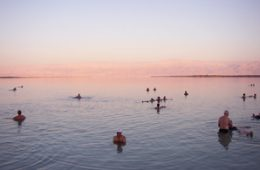 The Dead Sea, the healthiest tourist site in Israel!