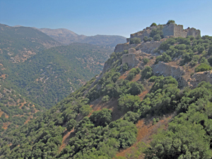 Nimrod Fortress, Golan Heights