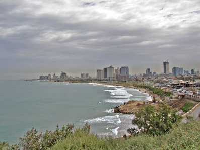 Tel Aviv from Old Jaffa