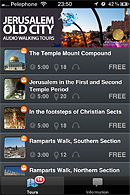 old city walking tour app