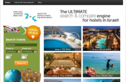 Find hotel deals in Israel
