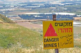Mines in Israel