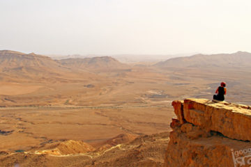 ramon crater view