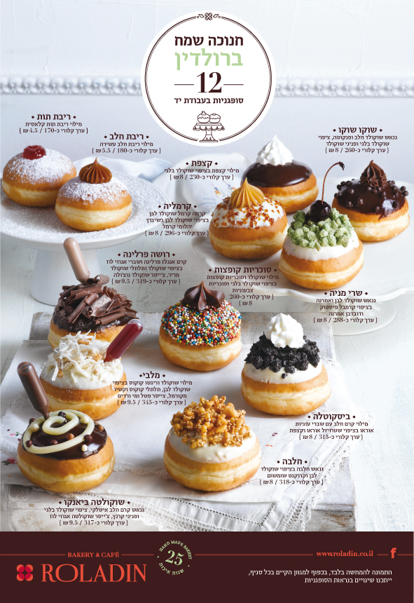 Hanukkah means donuts (sufganyot) means Roladin – the 2013 ...