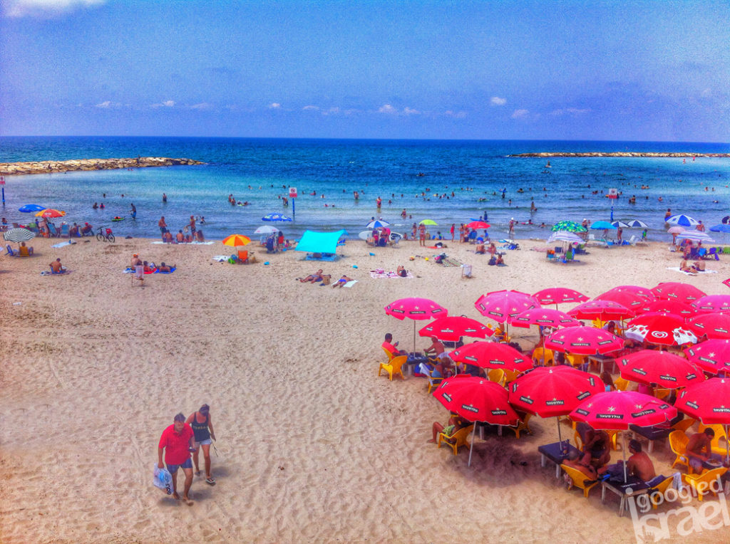 Tel Aviv beach August