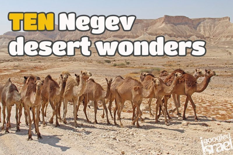 negev things to see and do
