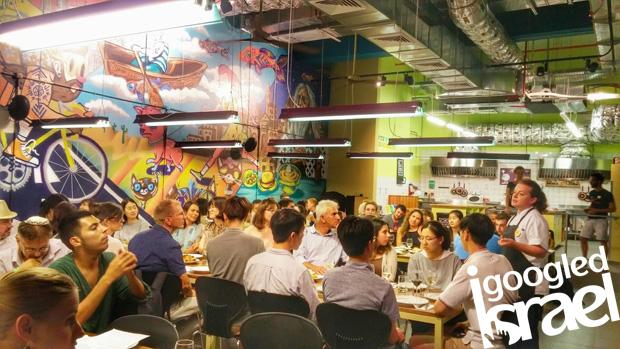 Abraham Hostel Shabbat Dinner
