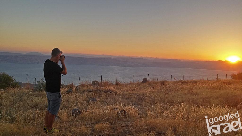 Golan Heights Sunset