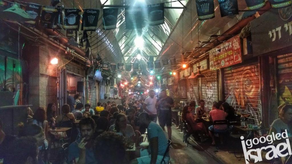 Machane Yehuda market nigh