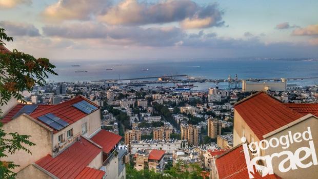 Sculpture Garden View Haifa