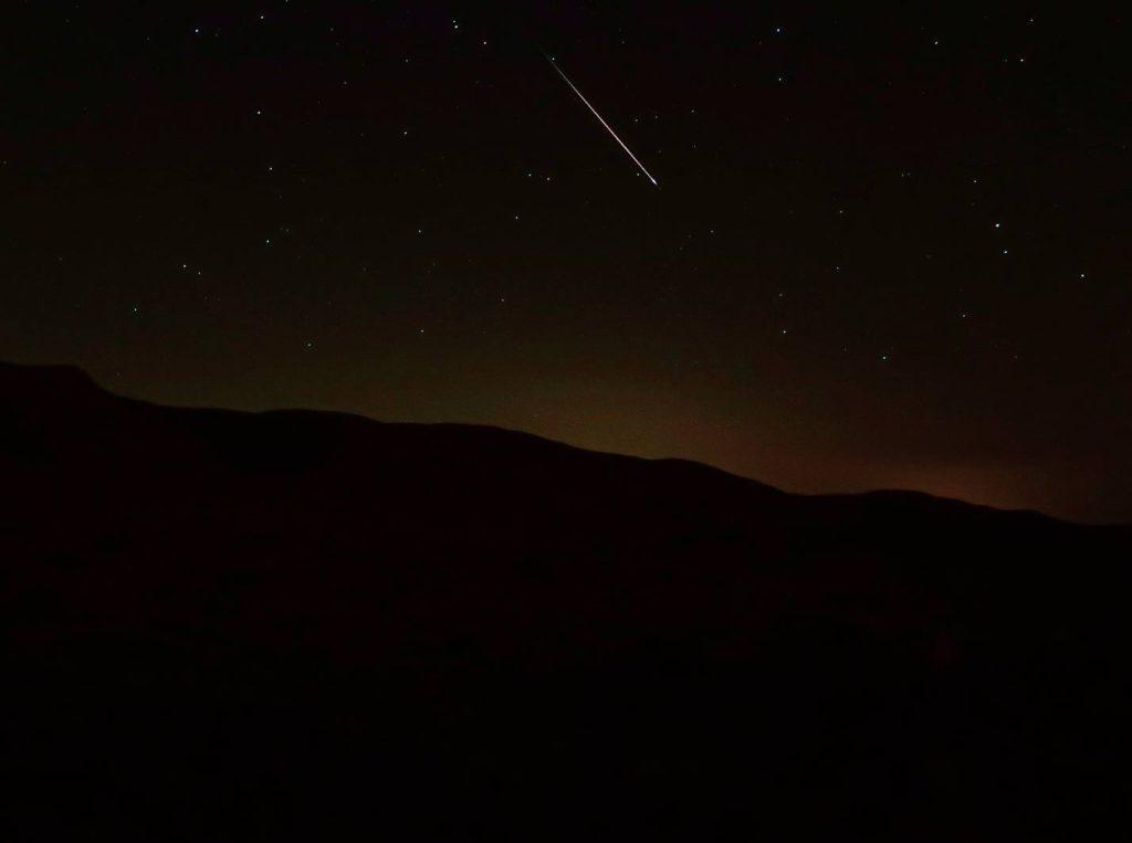 wild trails meteors