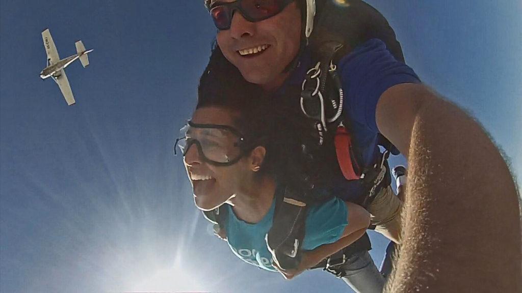 skydive in israel