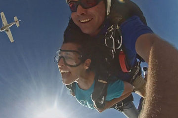 skydive in israel