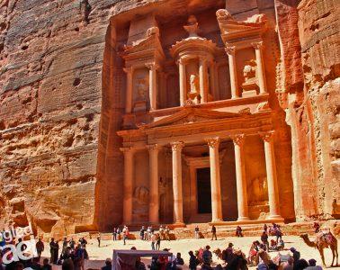 Petra Treasury tour
