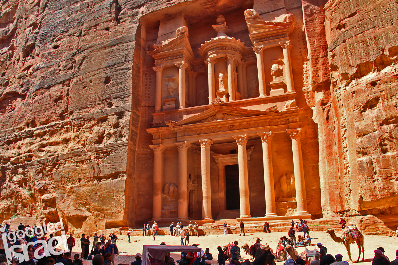 Petra Treasury tour