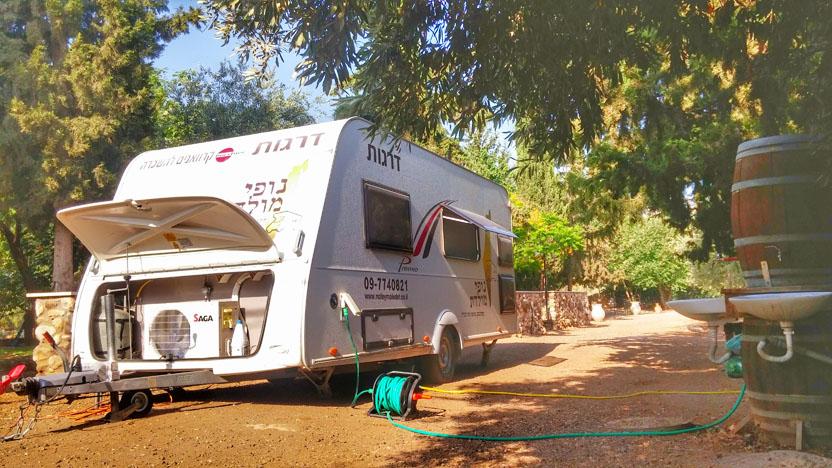 caravan Israel
