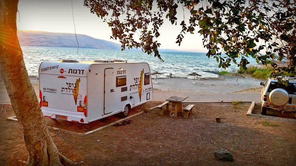 caravan holiday israel