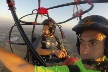 Paraplane flights Israel