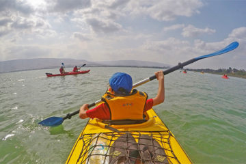 kayaking tour israel