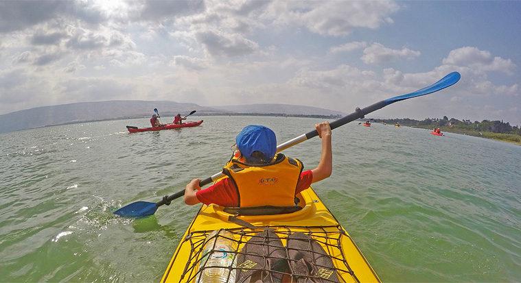 kayaking tour israel