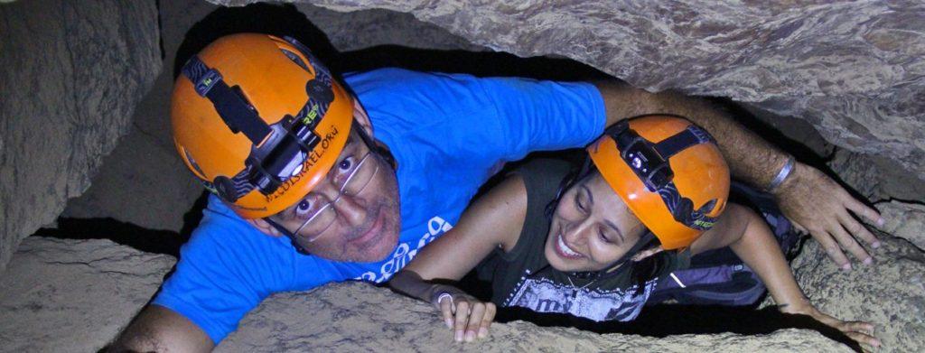 salt caving tour