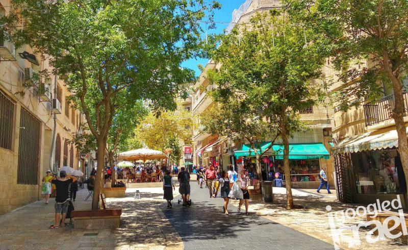 Ben Yehuda Jerusalem